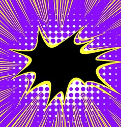 Comic balloon vector image