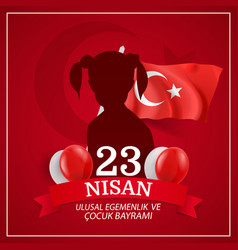 National sovereignty and children day vector