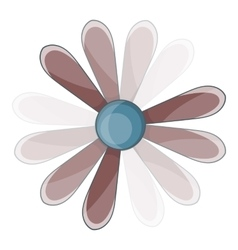 Propeller icon cartoon style vector