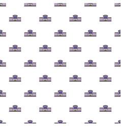 Railway station pattern seamless vector
