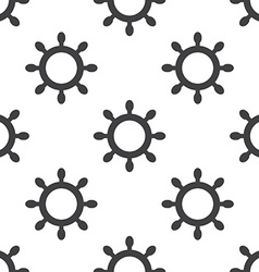 ship wheel seamless pattern vector image