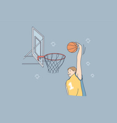 sport game playing match competition vector image