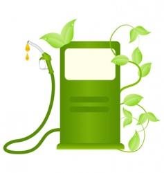 eco fuel concept vector image vector image