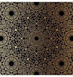 Vintage Gold mandala vector image