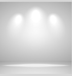 abstract white background empty room studio for vector image