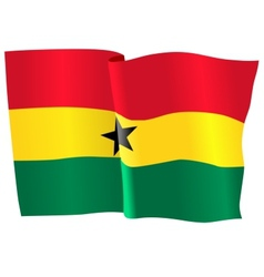 flag of Ghana vector image vector image