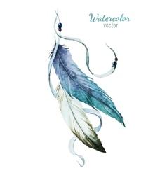 Nice feather vector