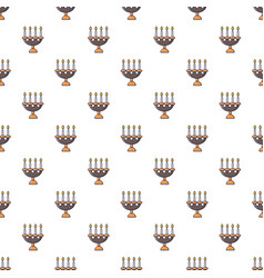 Candlelight candlestick pattern seamless vector