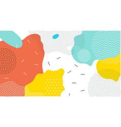 color splash art pattern background vector image