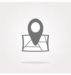 location location icon location flat icon vector image