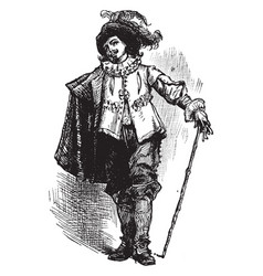 Mens clothing were replaced by a brief period vector
