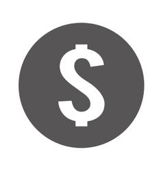 Money symbol isolated icon vector