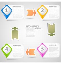 Original Infographics Elements vector image