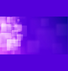 purple abstract background of blurry squares vector image