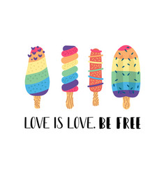 Social lgbt poster banner pride month vector