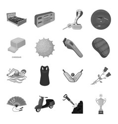 sport transport mine and other web icon in vector image vector image