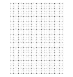 Full page centimeter dot paper vector