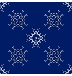 Abstract seamless pattern vintage ornament vector image