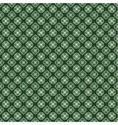 St Patrick's clover pattern vector image