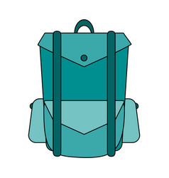 Backpack vector