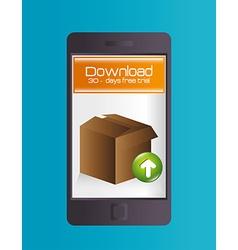 Ebook digital design vector
