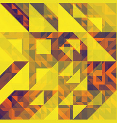 fashion triangle abstract background vector image