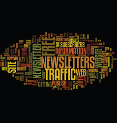 free web site traffic sources text background vector image