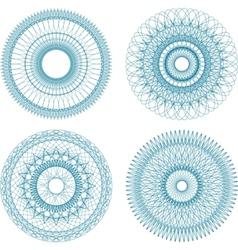 Guilloche element vector