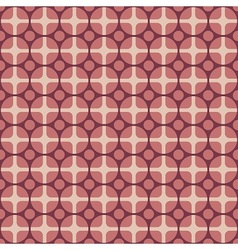 Retro fabric pattern vector image
