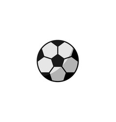 Soccer ball icon ball isolated on white vector