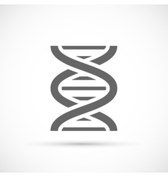 DNA Helix Icon vector image vector image
