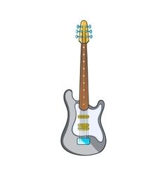 Electric guitar icon cartoon style vector image vector image