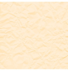 Abstract brown background crumpled old paper vector