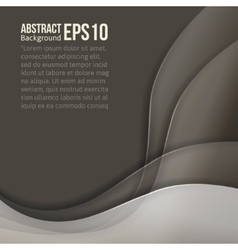 Abstract grey light background forms a smooth vector
