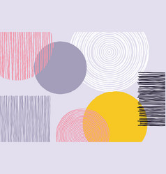Abstract patchwork pattern background vector