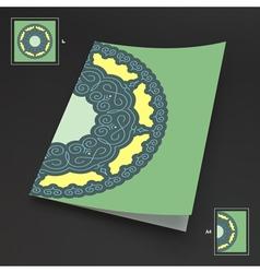 Textbook Booklet Notebook Mockup 3d vector