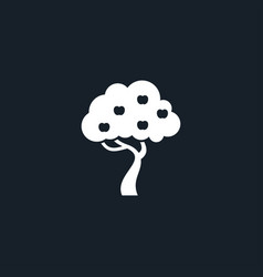 tree icon simple vector image