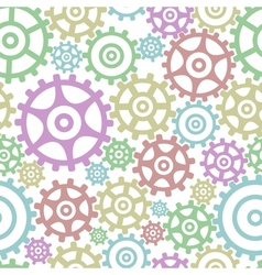 Background from gears vector image vector image