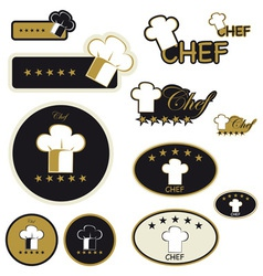 labels for food vector image vector image