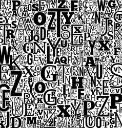 Alphabet Background vector