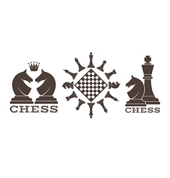 Chess Emblem vector