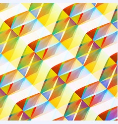 colorful mosaic geometric background vector image