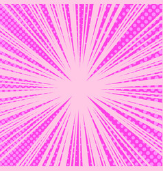 comic page pink bright background vector image