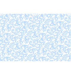 flower seamless pattern background elegant vector image