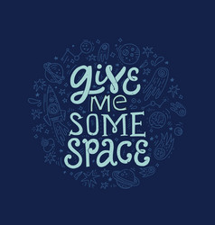 give me some space vector image