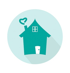 Home icon for concept vector image
