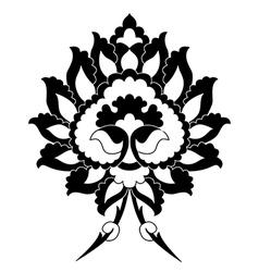 Ottoman motifs four vector