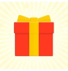 Present box icon vector