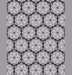 Seamless pattern hand drawn ornamental azulejo vector