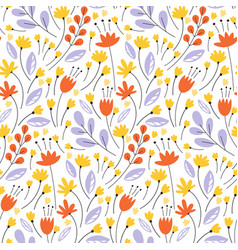 seamless pattern pretty pattern in small vector image